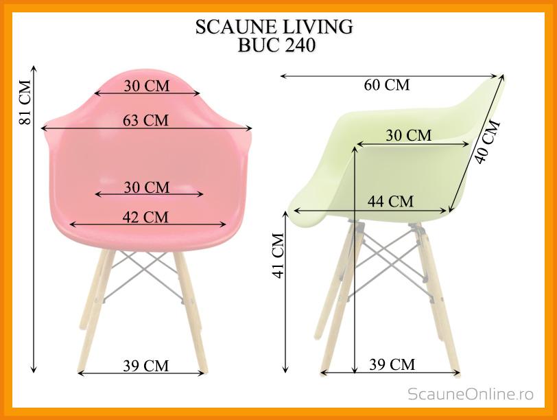 Dimensiuni scaune bucatarie BUC 240