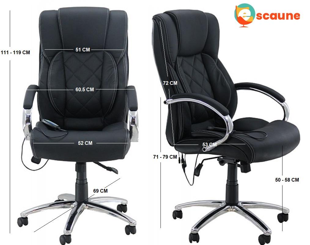 scaune de birou cu masaj OFF 933